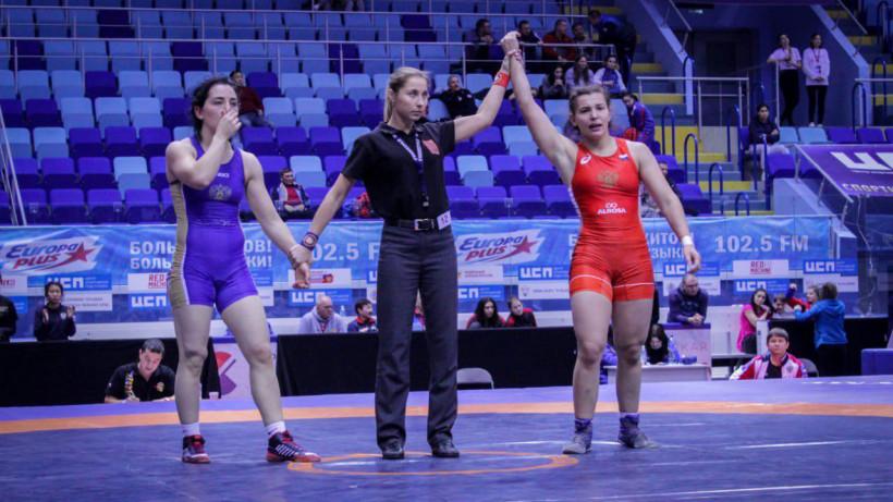 Подмосковная спортсменка завоевала бронзовую медаль на Кубке России по вольной борьбе