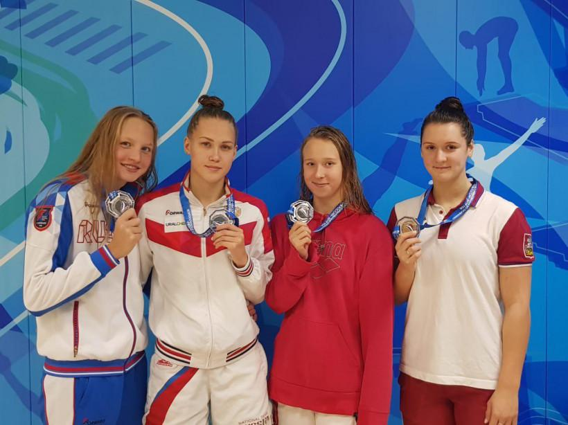 Подмосковные пловчихи завоевали 8 медалей на Всероссийских соревнованиях по плаванию