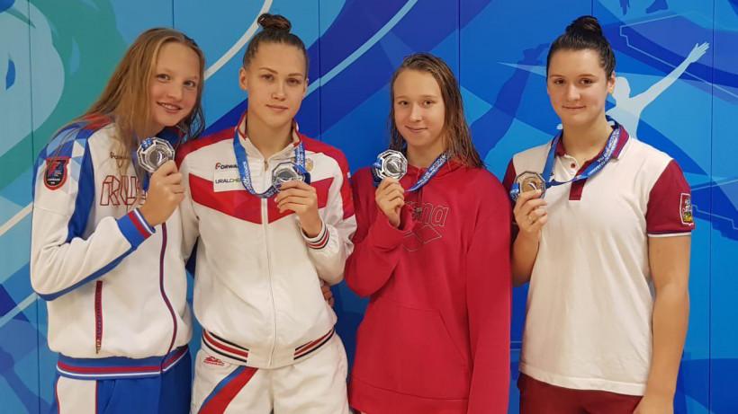 Подмосковные пловчихи завоевали еще 8 медалей на Всероссийских соревнованиях по плаванию