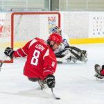 Подмосковные спортсмены забросили 17 шайб в двух стартовых матчах чемпионата мира по следж-хоккею