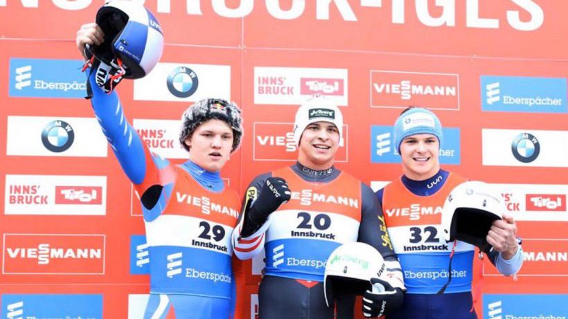 Подмосковный спортсмен завоевал серебро на этапе Кубка мира по санному спорту