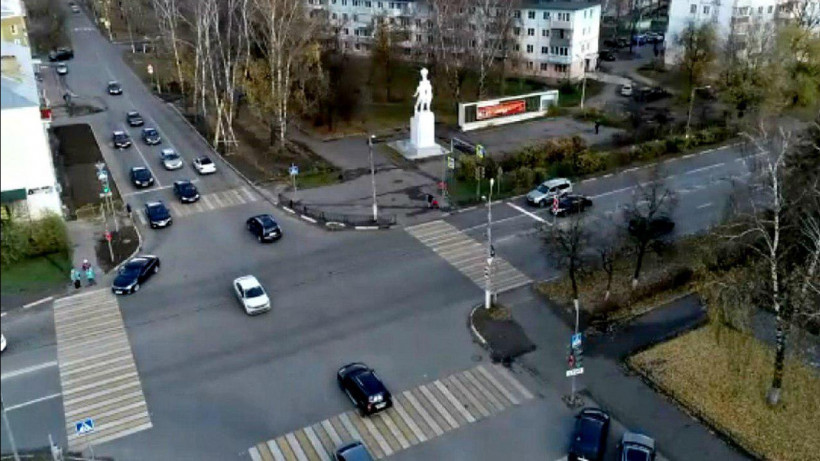 Поворотные полосы обустроили на двух перекрестках Егорьевска
