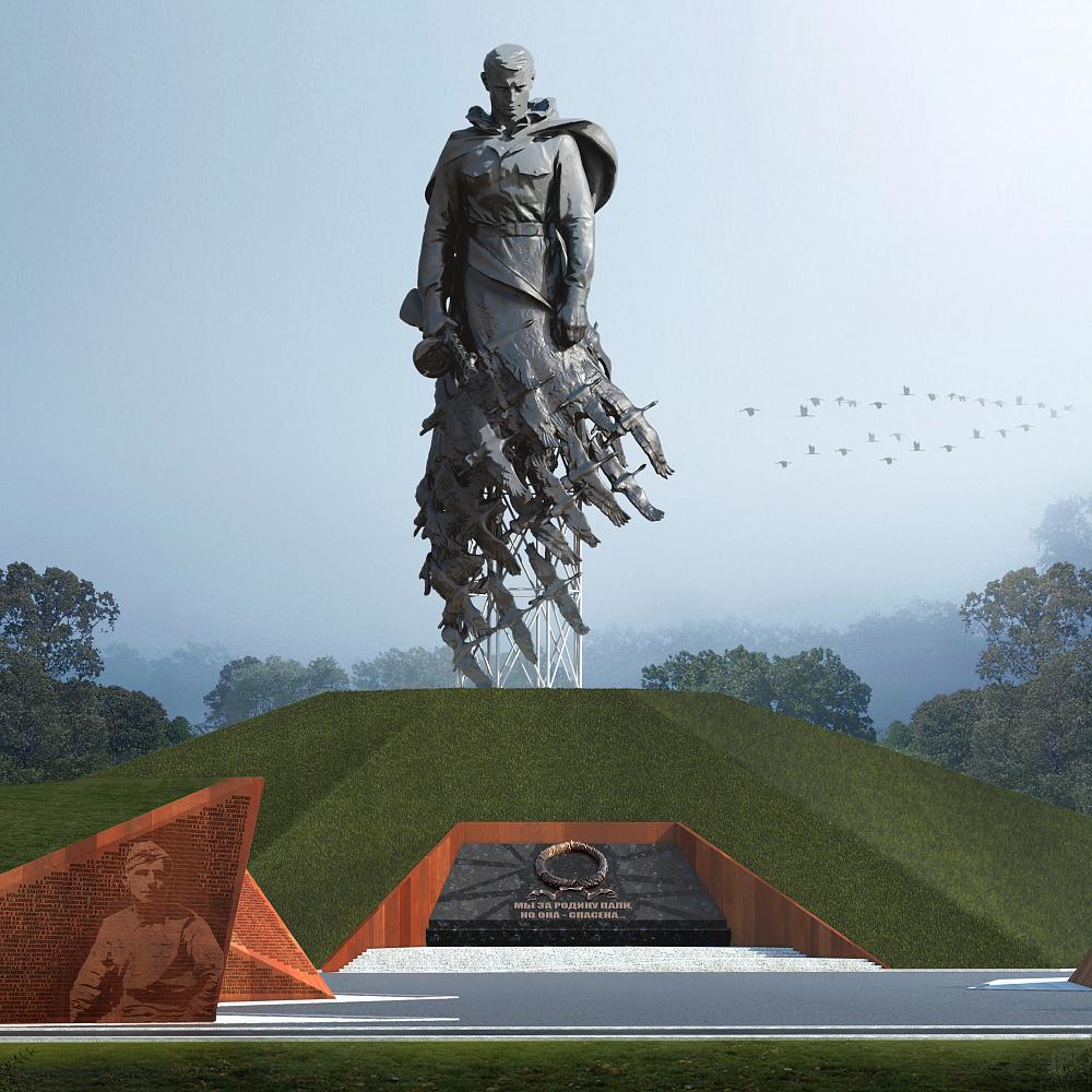 Пресс-тур к месту возведения Ржевского мемориала (Тверская область)
