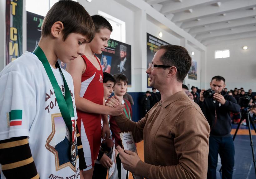 Роман Терюшков: «Спорт – это надежный базис для укрепления дружбы Подмосковья и Чеченской республики...
