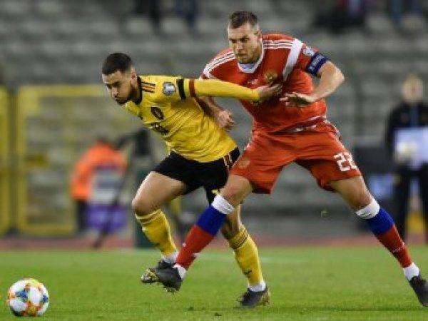 Россия и Бельгия сыграют в матче за первое место в квалификации ЧЕ 2020