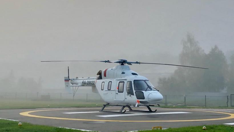 Санитарная авиация Подмосковья эвакуировала почти 250 пациентов с начала года