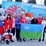 Сборная Ханты-Мансийского автономного округа-Югры – победитель V Всероссийского фестиваля ГТО среди школьников