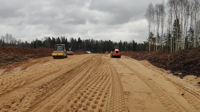 Съезд от парка «Есипово» на Ленинградское шоссе планируют открыть до конца года