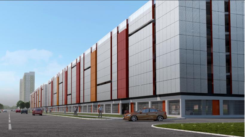 Шестиуровневый паркинг построят в Долгопрудном