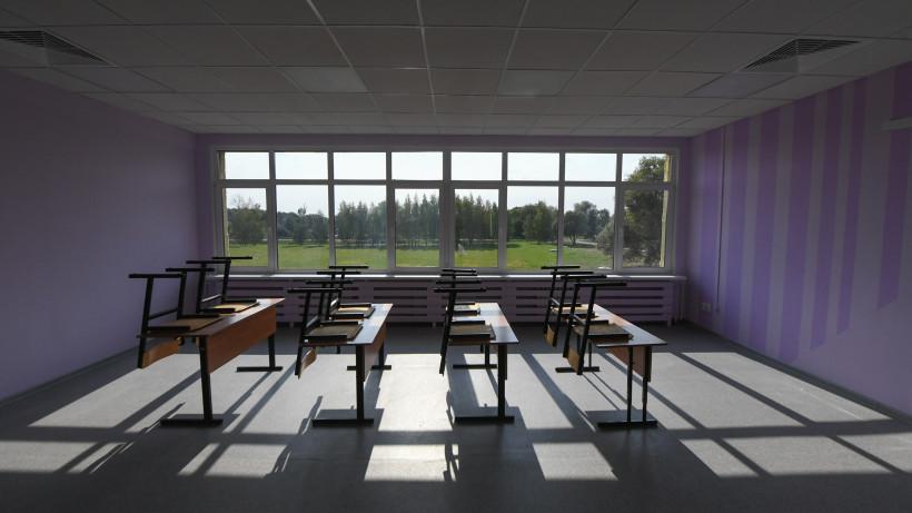 Школа на 825 мест появится в Чехове в 2021 году