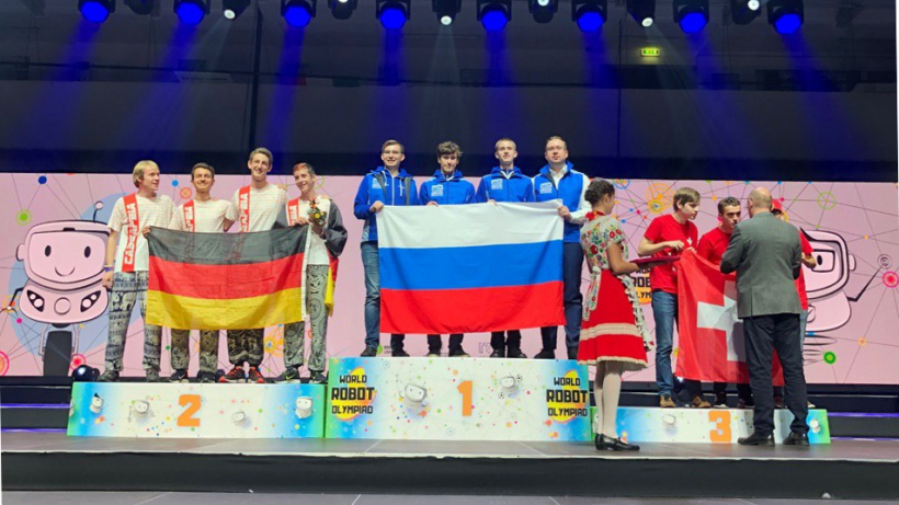 Школьники из Мытищ победили на Всемирной робототехнической олимпиаде