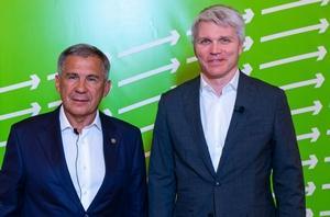Состоялась рабочая встреча Павла Колобкова и Президента Республики Татарстан Рустама Минниханова