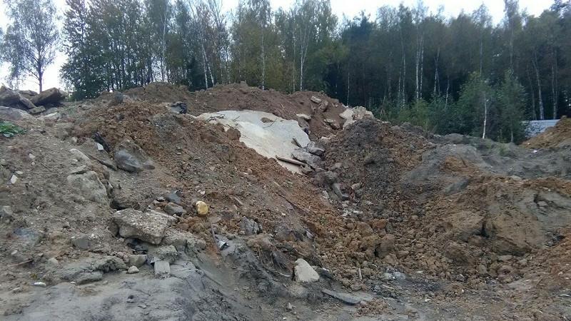 Сотрудники Минэкологии пресекли складирование мусора в Кубинке