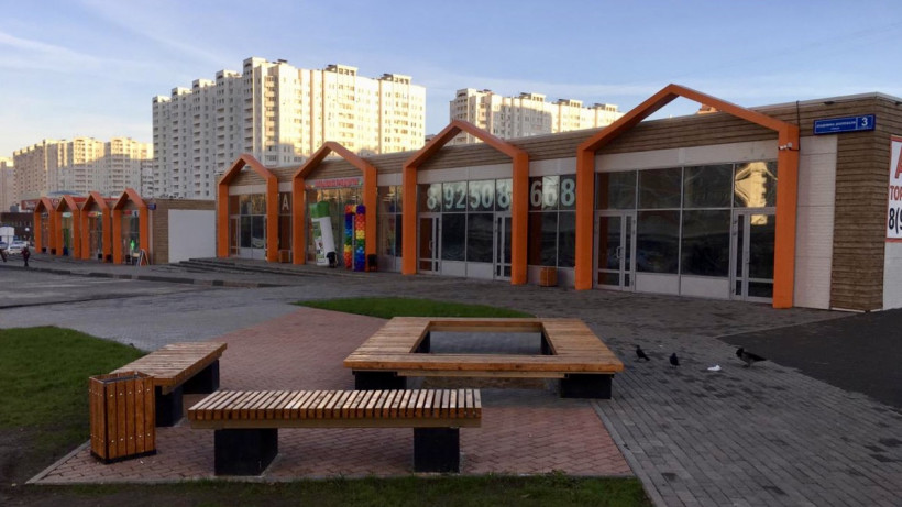 Современный маркет появился в Подольске в микрорайоне Кузнечики