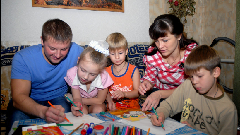 Семья Юсовых из Егорьевска