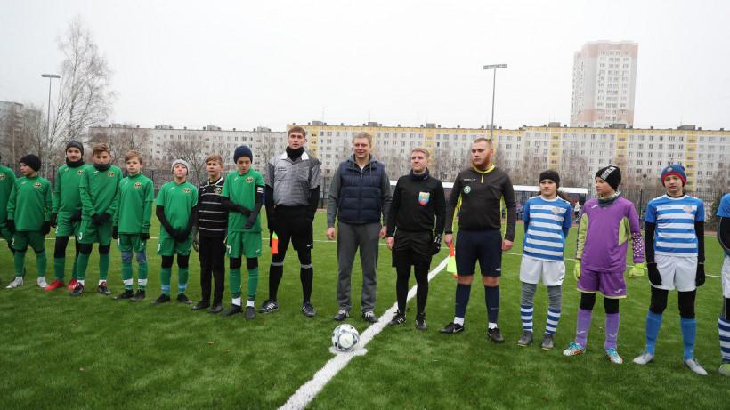 Спортивный стадион открыли после реконструкции в Одинцове в субботу