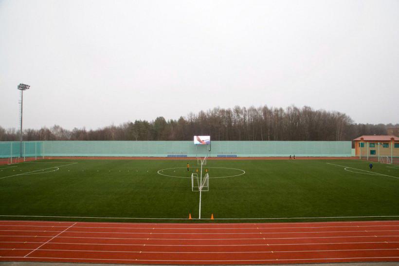 Стадион «Спортклуб Кашира» открылся после реконструкции
