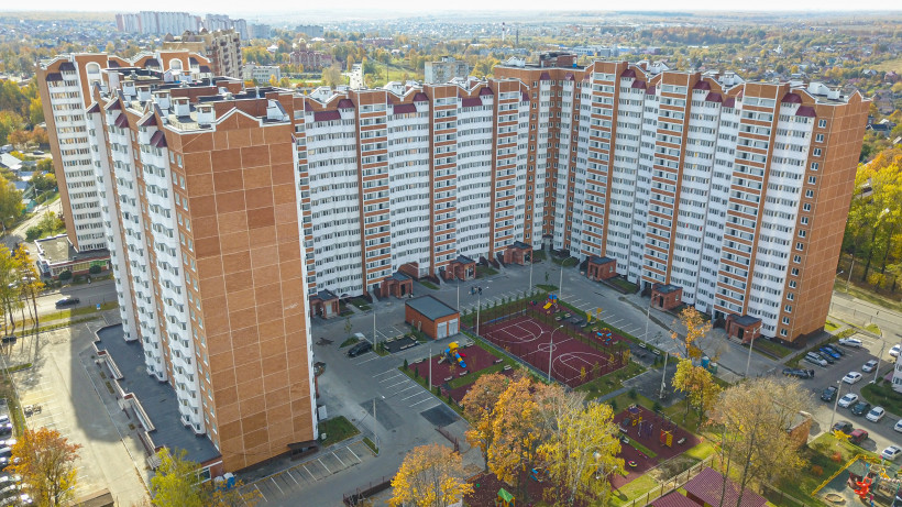Строительство 11-секционного дома завершено в Домодедове
