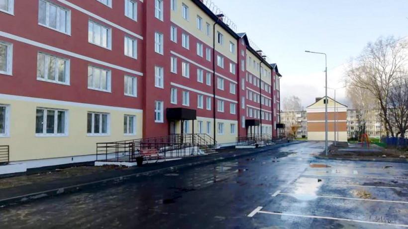 Строительство дома завершили в городском округе Клин