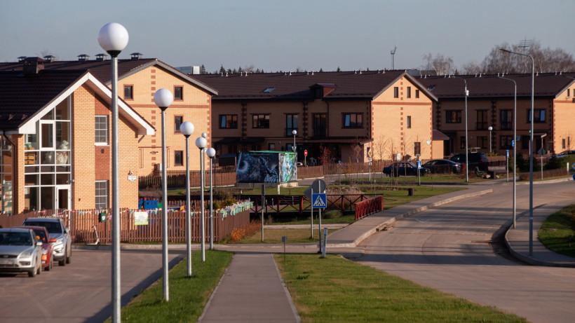 Таунхаус построили в ЖК «Экодолье Шолохово» в городском округе Мытищи