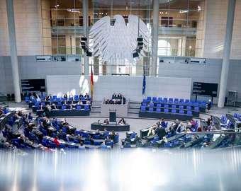 У депутата Бундестага случился приступ во время выступления