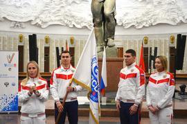 В Москве состоялись проводы российской спортивной делегации на XIX Сурдлимпийские зимние игры