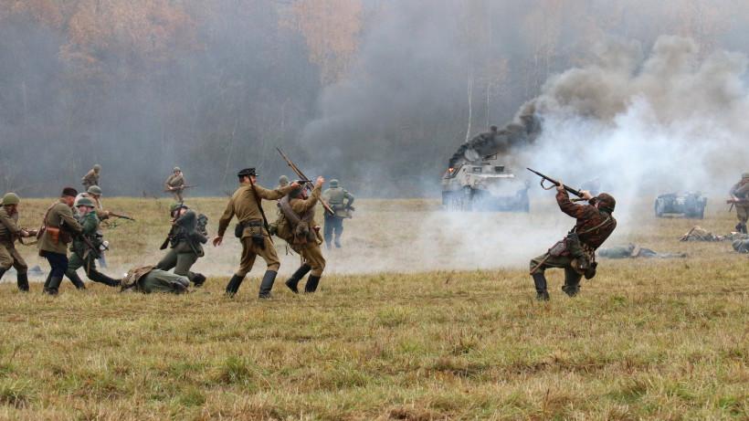 Военно-историческая реконструкция боевых действий 1941 года на Бородинском поле
