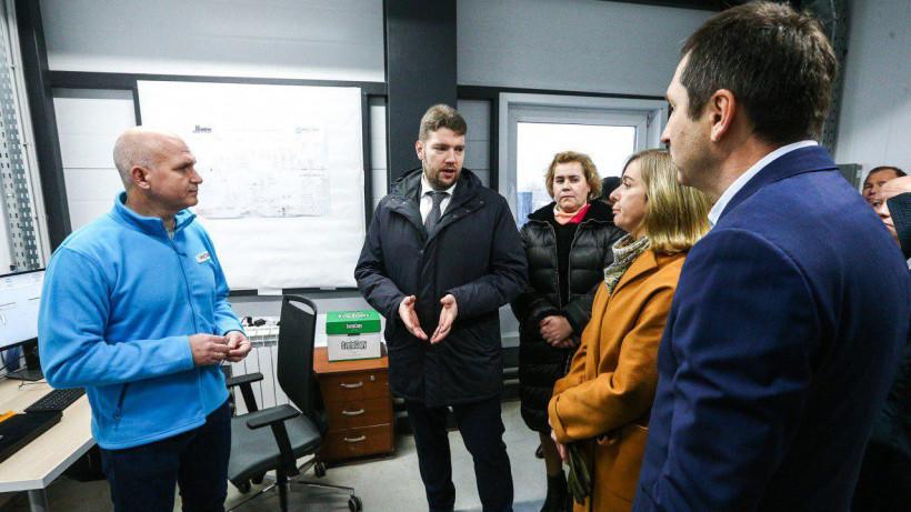 Завод по производству кормов для сельскохозяйственных животных открылся в Ступине