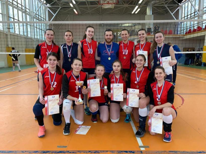 Женская сборная Московской области обладатель Кубка России по волейболу среди глухих и слабослышащих