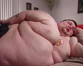 330-килограммовый мужчина испугался смерти и похудел вдвое