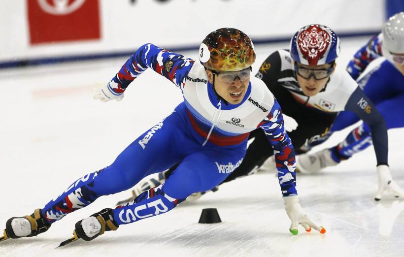Александр Шульгинов и Даниил Краснокутский завоевали бронзу Кубка мира по шорт-треку