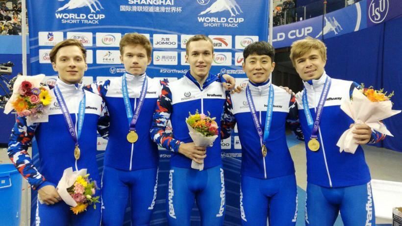 Александр Шульгинов из Подмосковья завоевал золото Кубка мира по шорт-треку