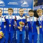 Александр Шульгинов завоевал очередную награду Кубка мира по шорт-треку