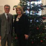 Алла Манилова провела рабочую встречу с Министром науки и культуры федеральной земли Бавария Берндом Зиблером