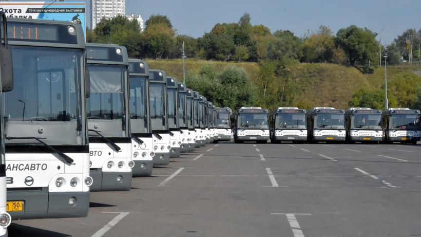 Автобусы Мострансавто перевезли более 800 тысяч пассажиров к станциям МЦД