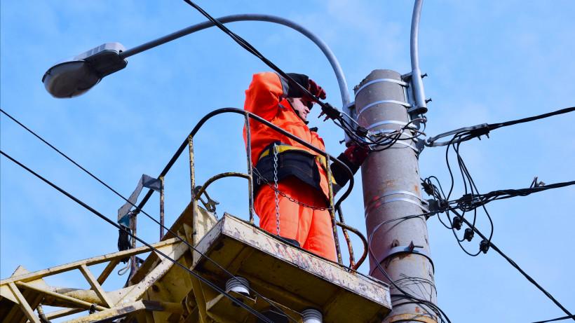 Более 90 км новых линий наружного освещения подключено в 16 округах Подмосковья