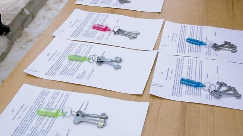 Детям-сиротам вручили ключи от квартир в Домодедове