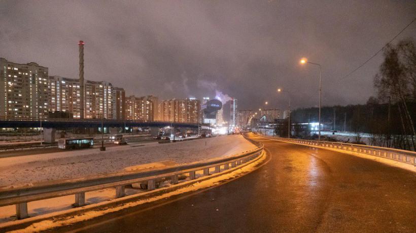 Движение по разворотной эстакаде в районе Павшинской Поймы стартовало в Красногорске