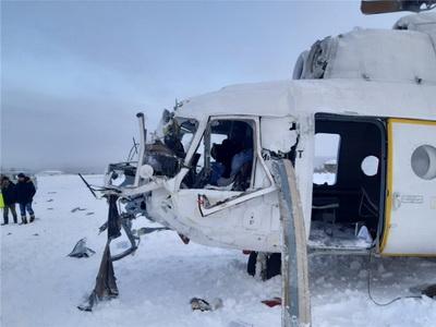 Фото с места жесткой посадки Ми-8 в Красноярском крае появилось в Сети: 6 пострадавших