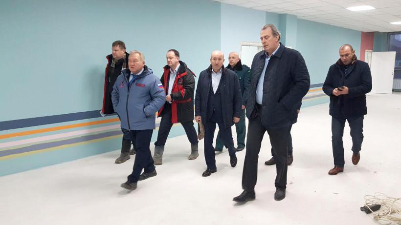 Главгосстройнадзор отметил высокую степень готовности школы на 1350 мест в Одинцове