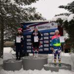 Горнолыжница Алена Харцызова завоевала бронзу Кубка России