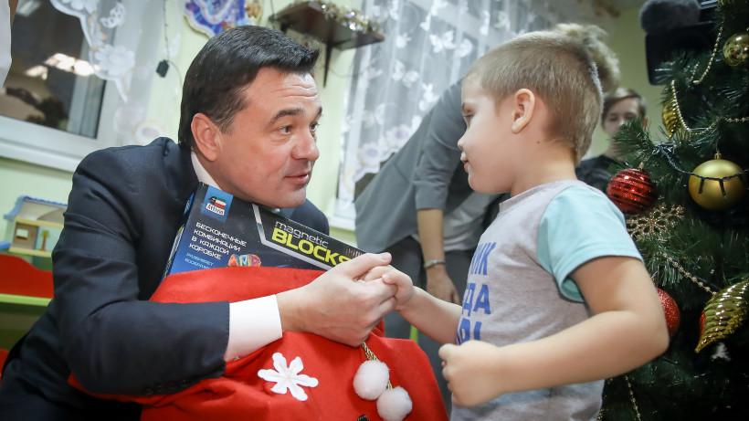 Губернатор посетил Московский областной научно-исследовательский клинический институт
