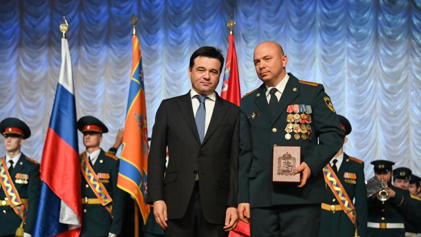 Губернатор поздравил сотрудников МЧС региона с Днем спасателя Российской Федерации