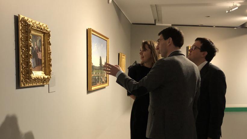 Игорь Щеголев посетил выставку «Цвет. 90 шедевров из музеев Подмосковья» в Новом Иерусалиме