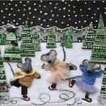 Экологический мастер-класс: ёлочные игрушки, открытки и панно из вторсырья