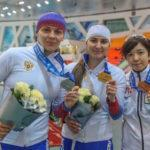 Конькобежка из Московской области завоевала серебряную медаль на III этапе Кубка Мира