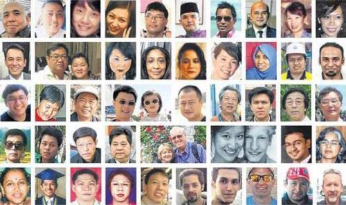 Загадочная пропажа 239 человек на борту MH370.