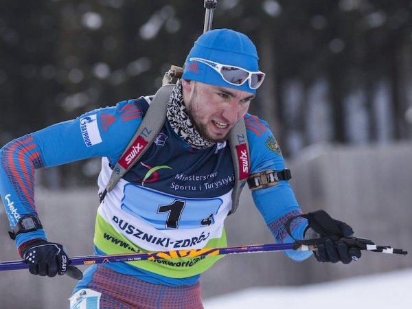 Логинов взял медаль в спринте по биатлону в Хохфильцене
