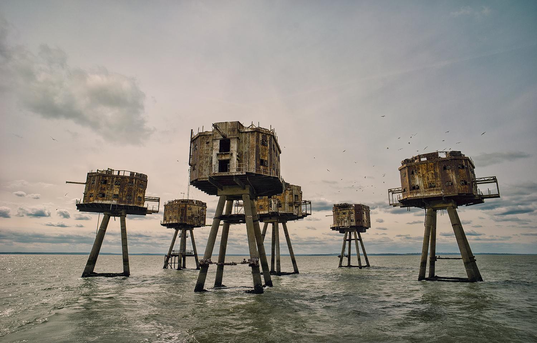 Морские форты, Англия