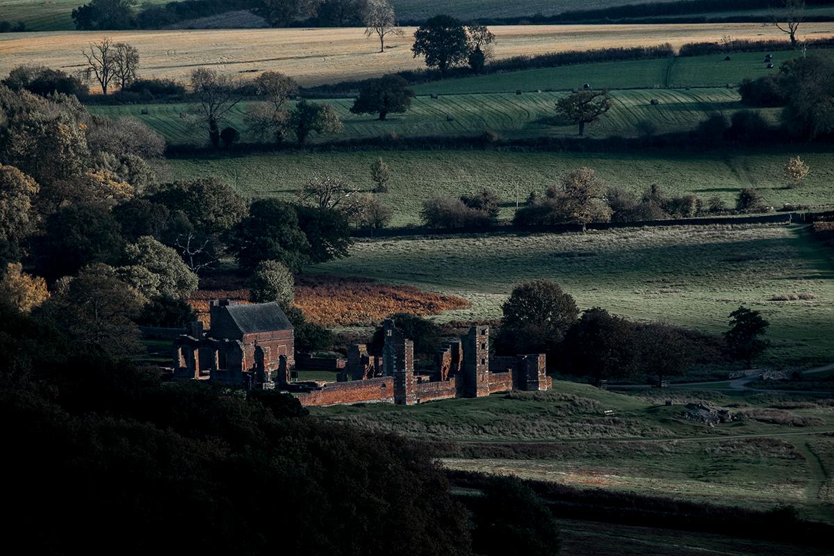 Руины Bradgate House, Англия